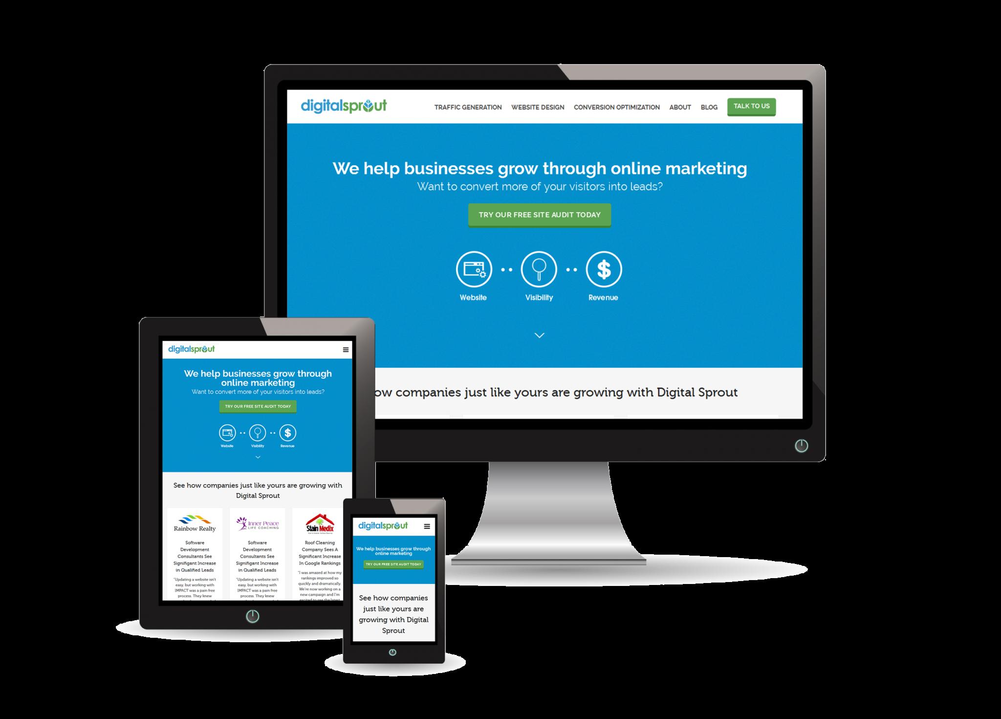 Responsive Web Design - Digital Sprout