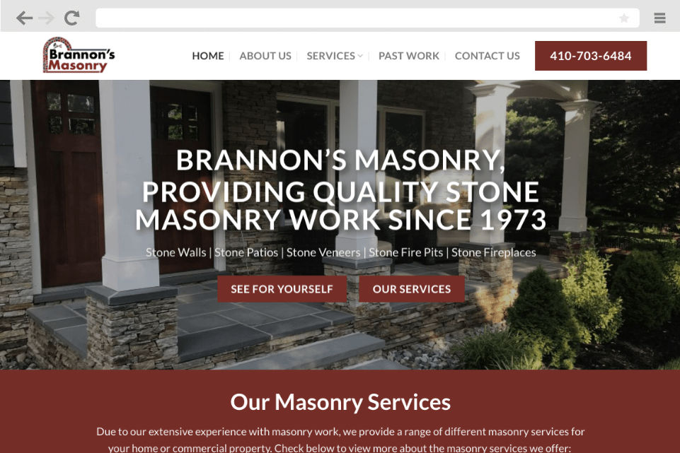Maryland web design company