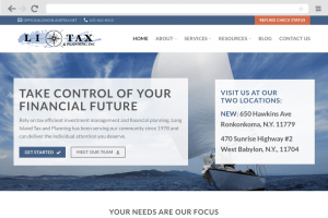 Annapolis web design company for Finance Business
