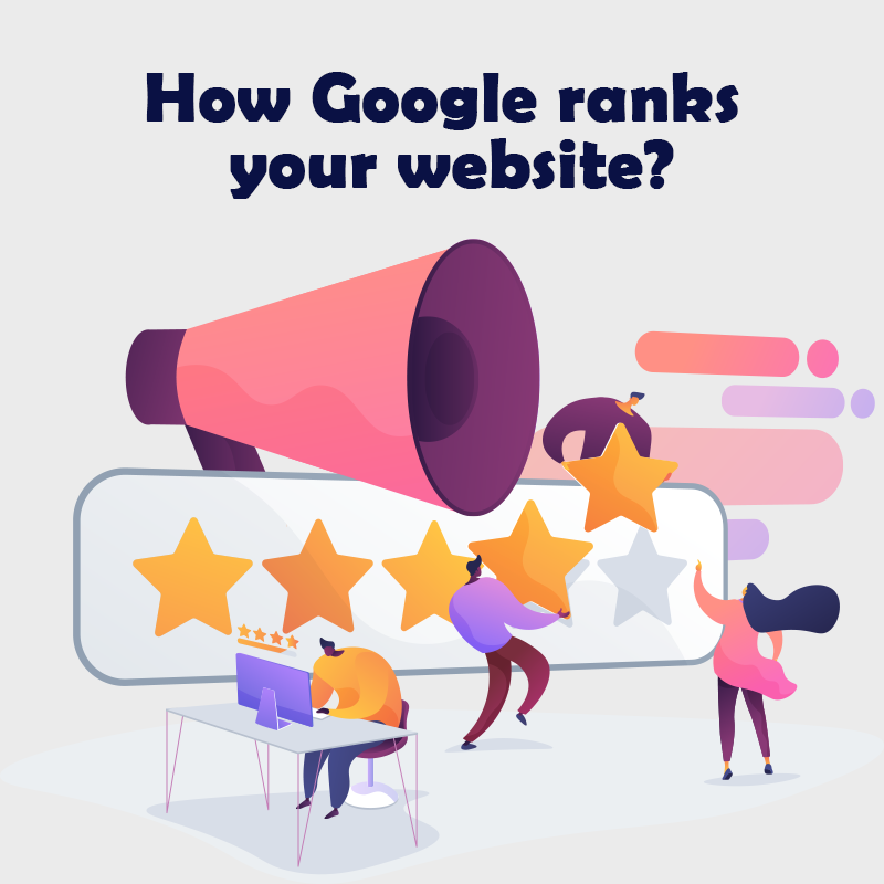How Google ranks your website?