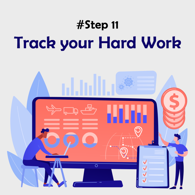 Track your Hard Work