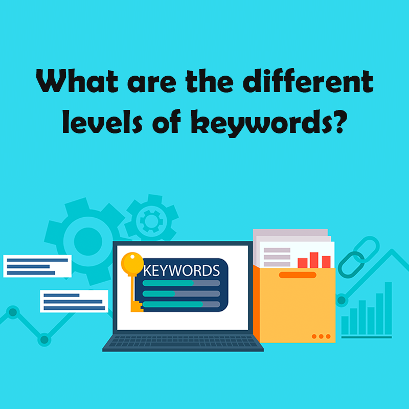 What are the different levels of keywords?