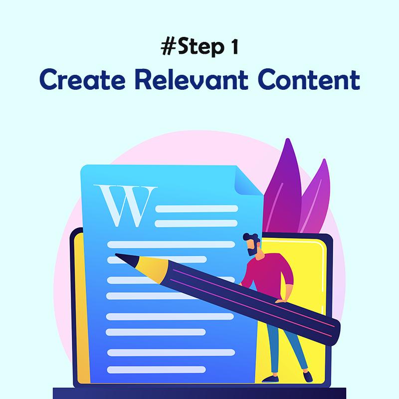 Create Relevant Content