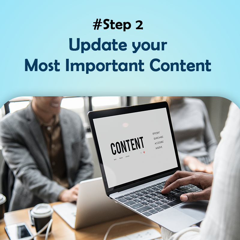 Update your Most Important Content