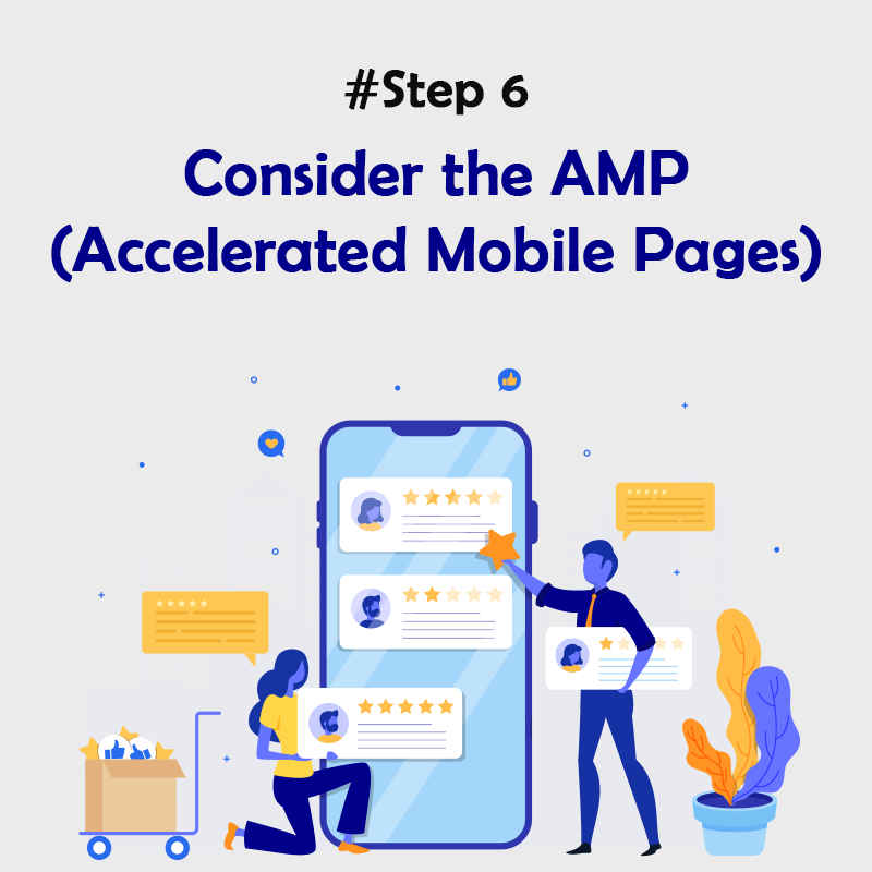 Consider the AMP (Accelerated Mobile Pages)