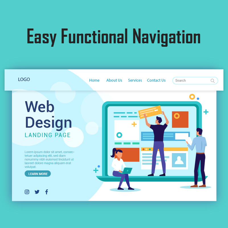 Easy Functional Navigation