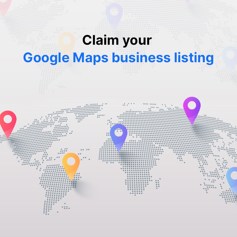 Claim your Google Maps business listing