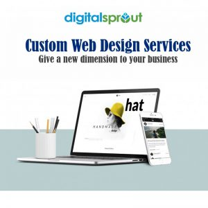 Custom Web Design Services-Give a new dimension to your business